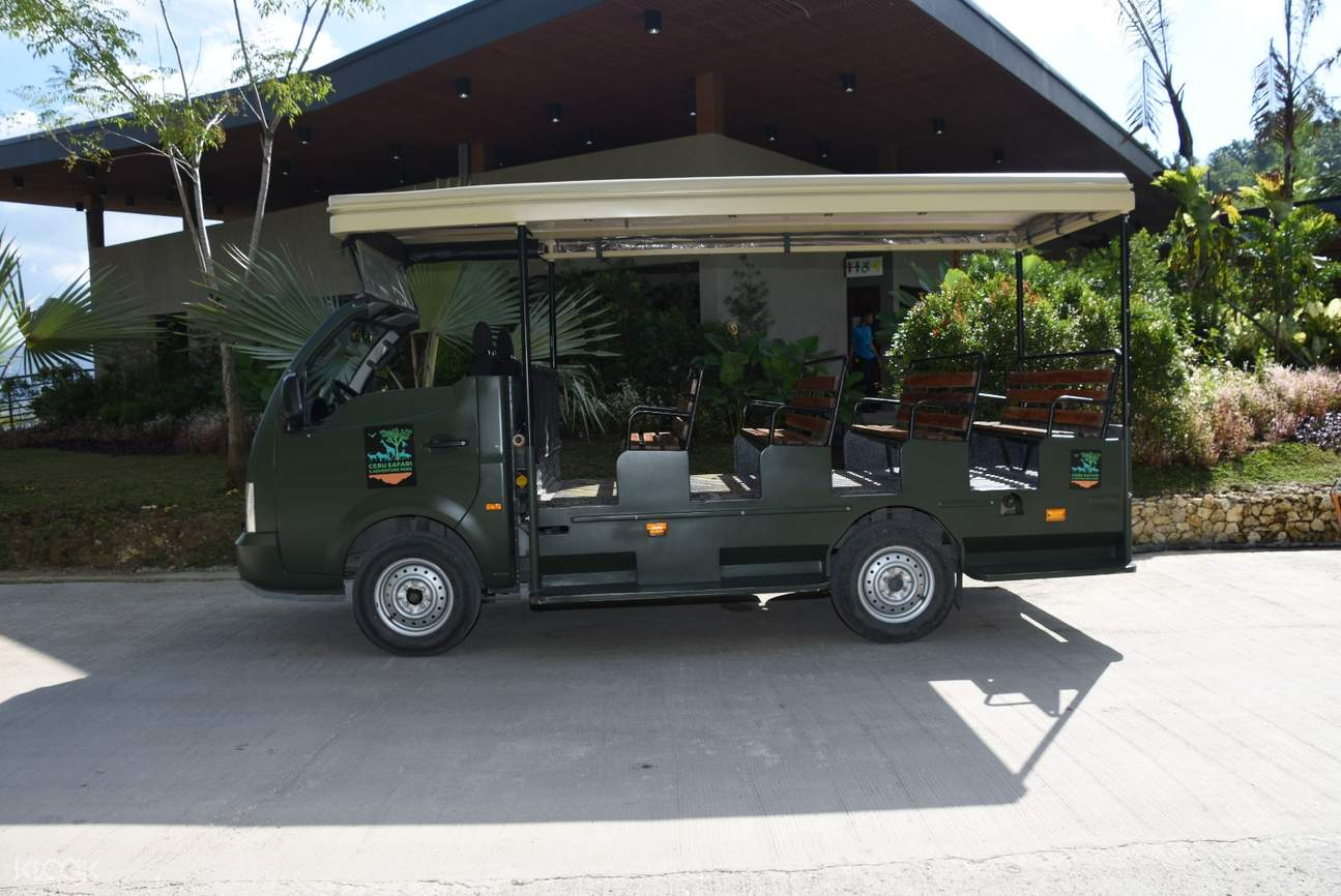 shuttle service in cebu safari park